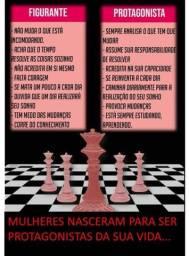 Título do anúncio: xeque mate - mulheres treinadas para reinar