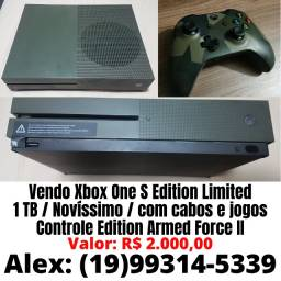 Vendo xbox one s edition limited