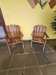 Vendo cadeiras de madeira