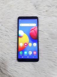 Título do anúncio: Celular Samsung A01 core com fone e carregador