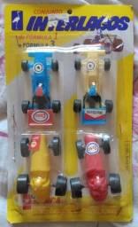 Carrinhos Antigos Conjunto Interlagos Fórmula 1 E 3