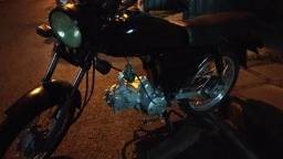 Motor 100cc de leilão com nota fiscal