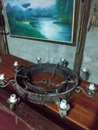 Lustre para galpão de ferro