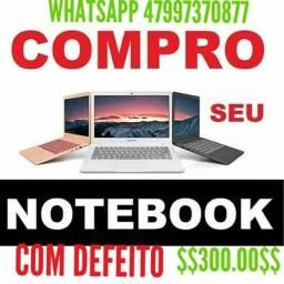 NOTEBOOK ESTA COM DEFEITO