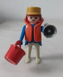 Boneco Salva- Vidas Playmobil Trol anos 80 -