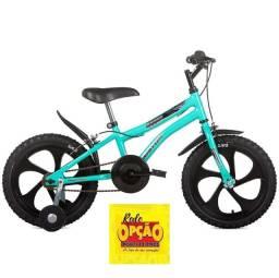 Título do anúncio: Bicicleta Nic Aro 16 Preta Houston Bike Rede Opção Móveis