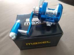 Título do anúncio: Carretilha Oceânica Maxel Sealion Jigging Osl08lh