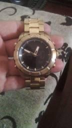 Relógio  banhado ouro