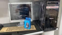 COMPUTADOR COMPLETO 4GB MEMORIA HD SSD COM GARANTIA