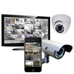 Câmeras de segurança cftv jfl