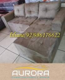 Título do anúncio: sofá novo apronta entrega***