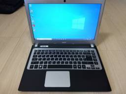 Notebook Acer i3 3gen 1.80ghz/SSD 120gb/4gb memória RAM DDR3