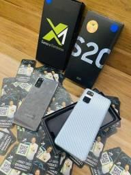 Título do anúncio: [240921] Samsung S20 - Cinza / Branco - Novos