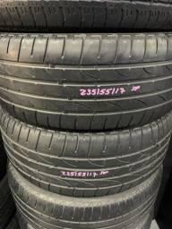 Título do anúncio: Pneu 235/55/17 Bridgestone meia vida