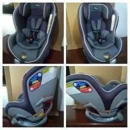 Título do anúncio: Cadeira Reclinavel 9 posições Isofix Anti-Impacto Chicco Nextfit Super Luxo Higienizada
