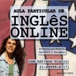 Título do anúncio: Aula particular de inglês online com 30% de desconto