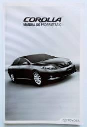 Toyota Corolla XLI, XEI, Altis 2011 - Manual Original Conservado