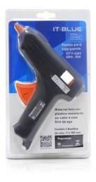 Pistola De Cola Quente It-blue 10w Profissional