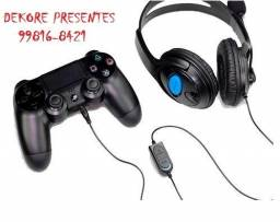 Fone Ouvido Headset Microfone Playstation 4 Ps4 Xbox One