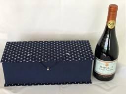 Vinho Marques de Casa Concha + Case Artesanato presente fino