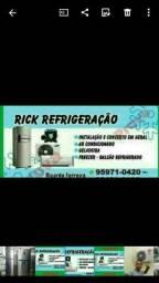 Título do anúncio: Rick Refrigeração * zona sul