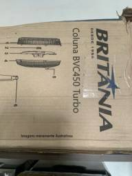 Título do anúncio: Ventilador Britania Turbo silencioso 6 pás 47cm BVC450 127V
