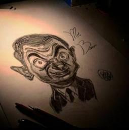 Vendo desenho de MR BEAN