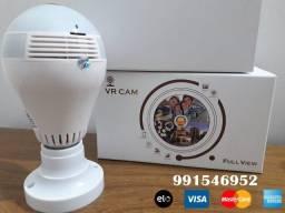 Título do anúncio: Câmera Lâmpada Wi-Fi, vigie seu ambiente com boa qualidade 24h sem pagar nada