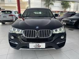 BMW X4 XDRIVE 28i X-LINE 2.0 TURBO 245CV AUT. 2015 PRETA.