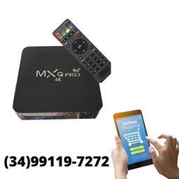 Título do anúncio: Tv Box mxq pró 4k 8g/64gb