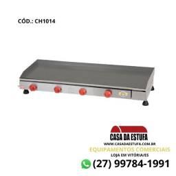 Título do anúncio: Chapa Churrasqueira 100x40cm 4 Queimadores - Marchesoni