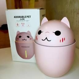 Umidificador de Ar Cat portátil 3em1-Adorable pet