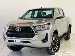 Título do anúncio: Toyota HILUX SRV CD 4X2 2.7 FLEX AUTOMATICO - ZERO KM - 2021