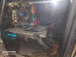 PC Gamer i7 com Placa de Video RX580
