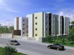 Apartamento com 2 dormitórios à venda, 58 m² por R$ 180.000 - Portal do Sol - João Pessoa/