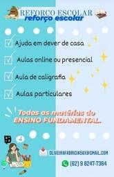 Título do anúncio: AULAS PARTICULARES ENSINO FUNDAMENTAL