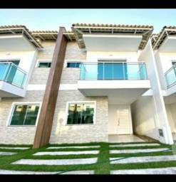 Aluga-se ESPETÁCULAR casa em condomínio fechado no Eusébio.