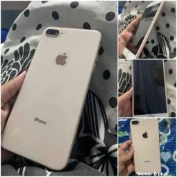 Iphone 8 plus 64 gigas muito novo