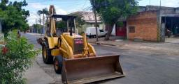 Retro Escavadeira Fiatallis FB80 Ano 95 4x2 Emplacada