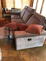Título do anúncio: Sofá Retrátil para 3 pessoas - Alto Padrão