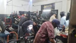 Vende-se oficina de moto completa