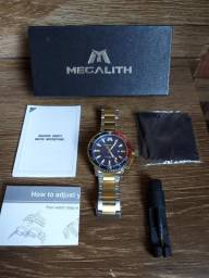 Relógio de luxo Megalith original.