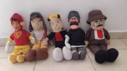 5 Bonecos da Turma do Chaves por R$120