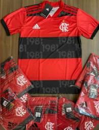 Camisa de Futebol/Time - Flamengo Nova 21/22 - Pronto Envio