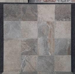 Título do anúncio: Piso Antideslizante Pavia Gray 60x60 - Embramaco.
