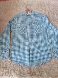 Promoção camisa de botão manga longa Smolder