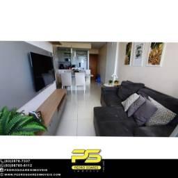 Apartamento com 3 dormitórios à venda, 84 m² por R$ 390.000 - Água Fria - João Pessoa/PB