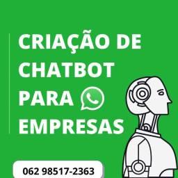 WhatsApp Chatbot para sua empresa, faça já o seu!
