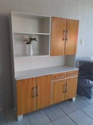 Título do anúncio: Armário de cozinha em madeira disponível