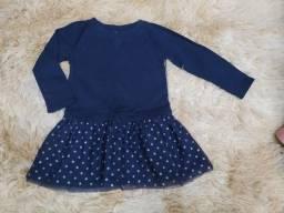 Vestido Carter's 2t (2 anos)